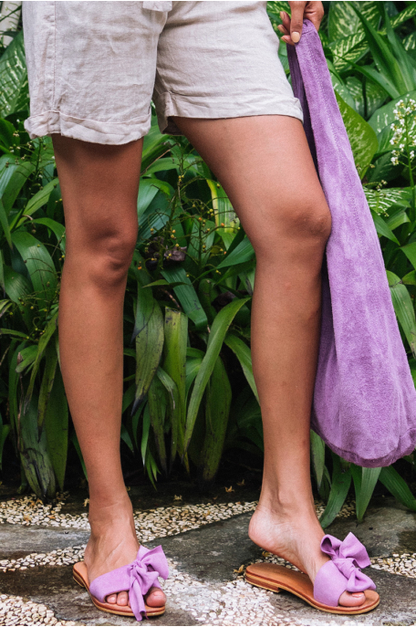 Masnis bőr papucs