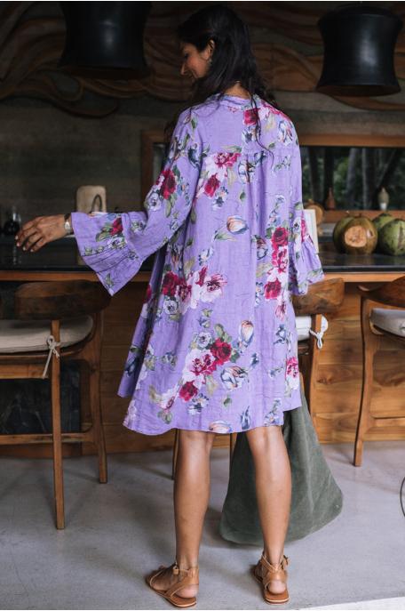 Virágmintás ruhácska