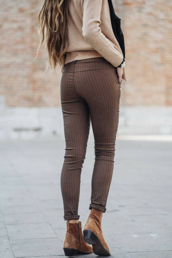 Csíkos leggings