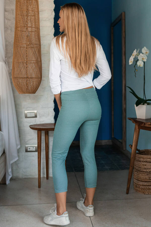 Vászon leggings