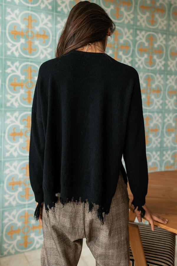 Rojtos, finomkötött pulóver
