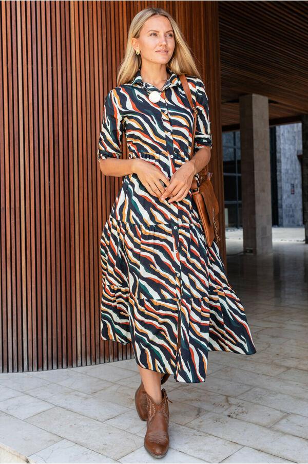 Zebra csíkos ruha
